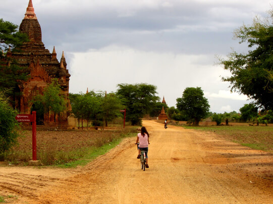 bagan bike tour to pakkoku 3