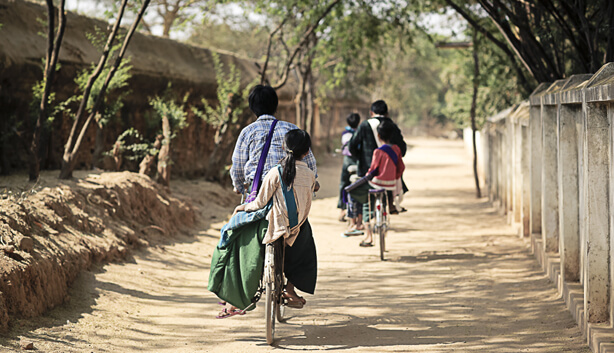 bagan bike tour to pakkoku