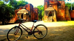 bagan bike tour to pakkoku 5