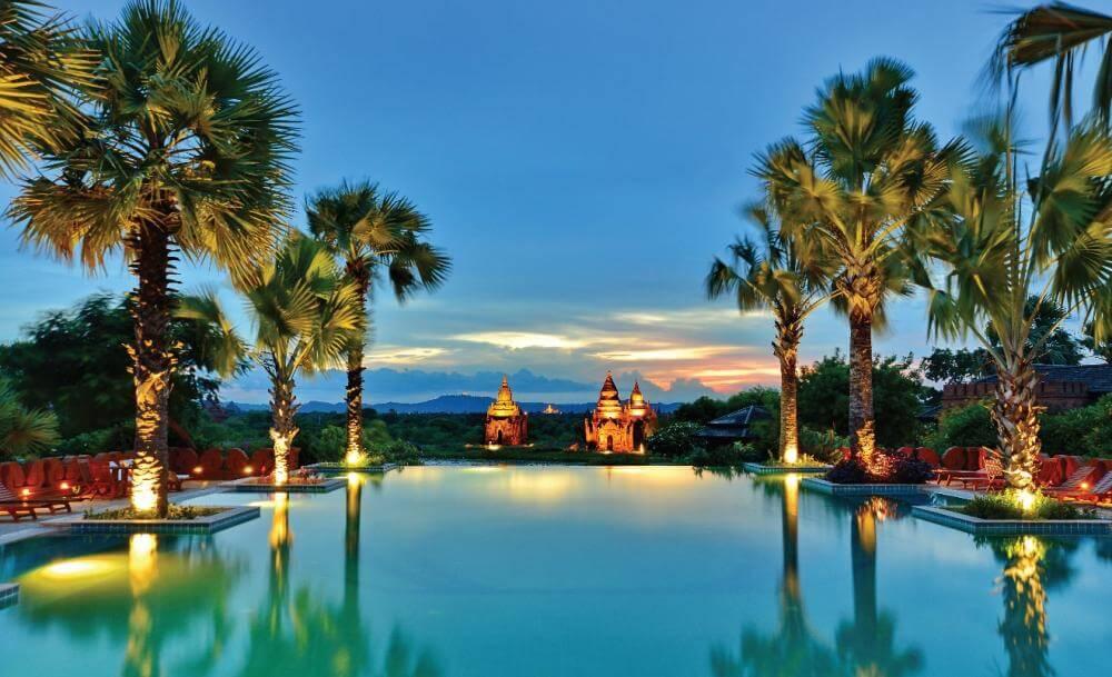 Aureum Palace Hotel And Resort In Bagan Myanmar Burma