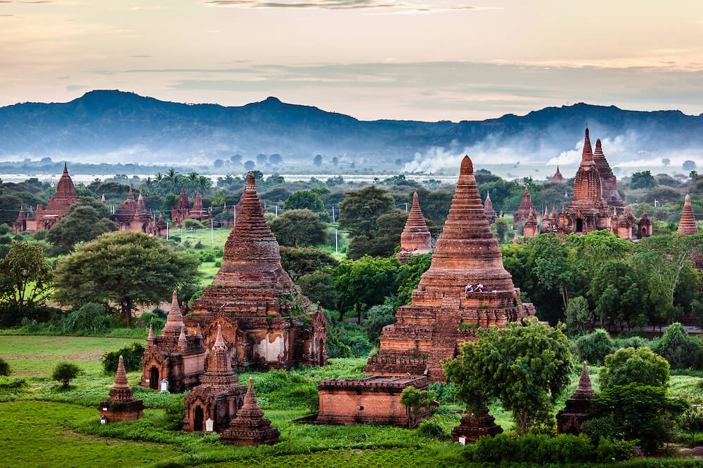 U Saw Birmania Bagan City - Th...