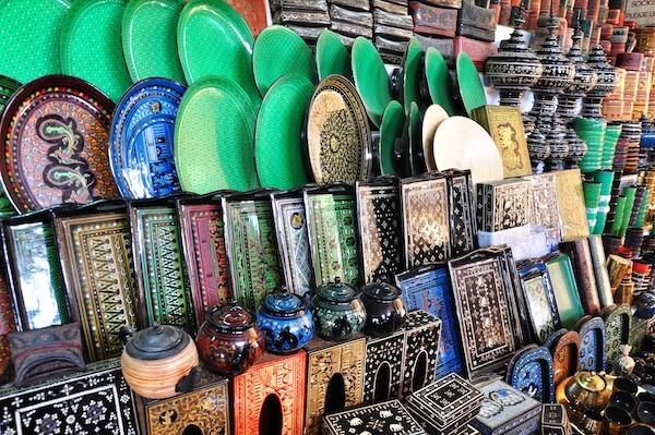 bagan lacquerware