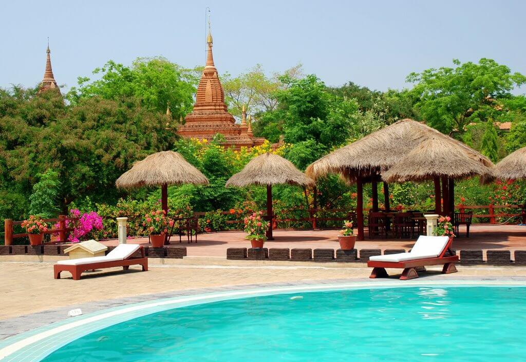 Bagan Thande Hotel - River View Hotel in Bagan, Myanmar