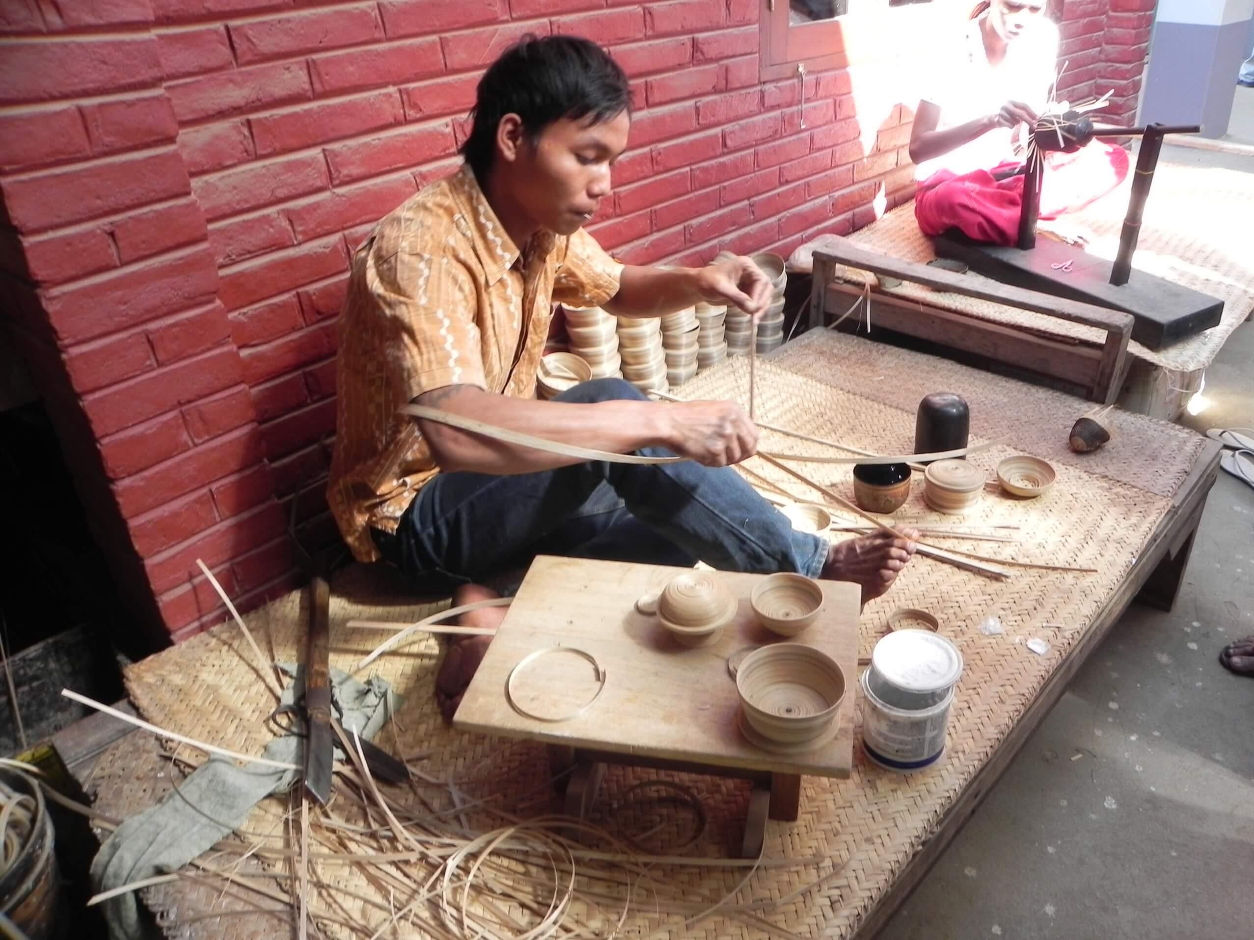 bagan lacquerware inner making