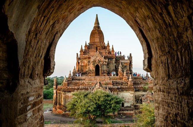 Đền thờ Dhammayangyi 5