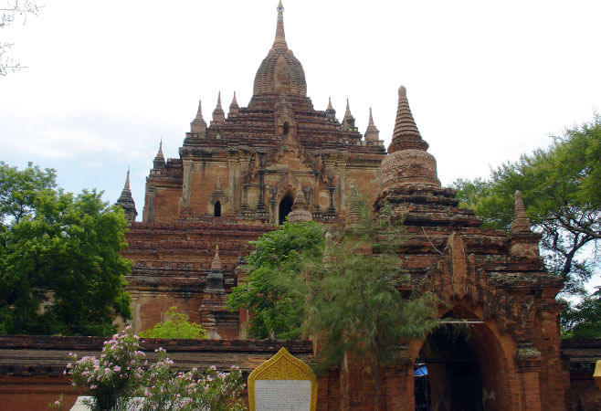 Htilominlo Temple Where The Past Never Ends In Bagan