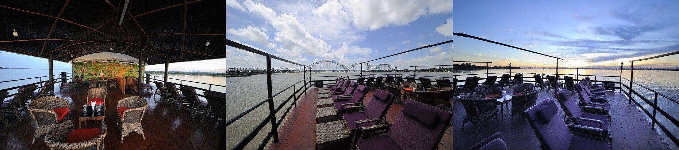 Irrawaddy Princess Cruise Sundeck