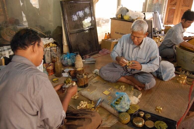 U Ba Nyein Lacquerware Workshop