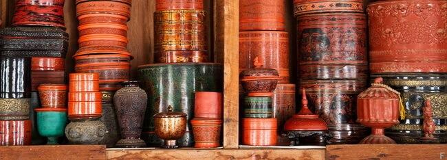 bagan lacquerware shops 9