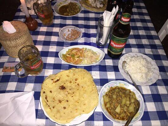 indian restaurants in bagan 7