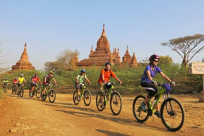 Bagan biking tour is really interesting but taking a lot of effort