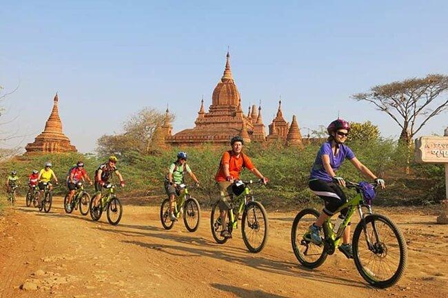 Bagan biking tour is really interesting but taking a lot of effort