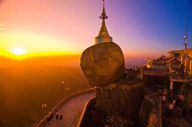 sunrise and sunset in myanmar 4