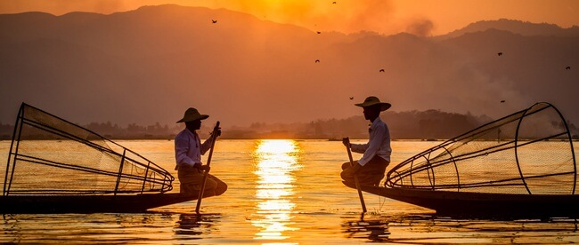 sunrise and sunset in myanmar 5